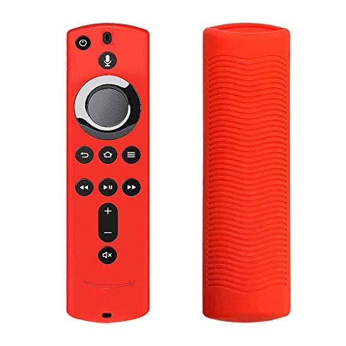 Jugendhj 2 stück für Amazon fire tv Stick 4 Karat tv Stick Remote silikon case schutzhülle Haut Jvc Pack