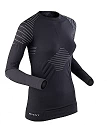 X-Bionic Invent Shirt Long Women Schnelltrocknend, rascher Feuchtigkeitstransport, elastisch und körpernah Klimaregulierend Material: 94% Polyamide 4% Polypropylene 2% Elastane Angenehme, wärmende Unterwäsche für kühlere Temperaturen Körperbetonte, s...