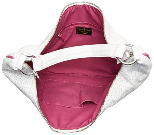 Paquetage Maxi, Sac porté épaule 061/Blanc Perforé