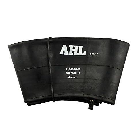 AHL Motorcycle Tire Inner Tube 460-17 Heavy Duty Tube TR4 Straight Valve Stem