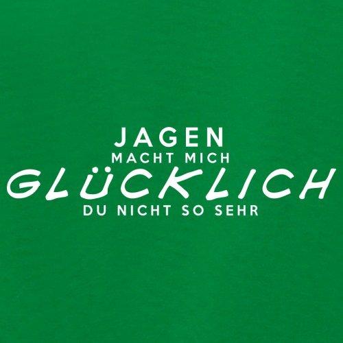 Jagen macht mich glücklich - Damen T-Shirt - 14 Farben Grün
