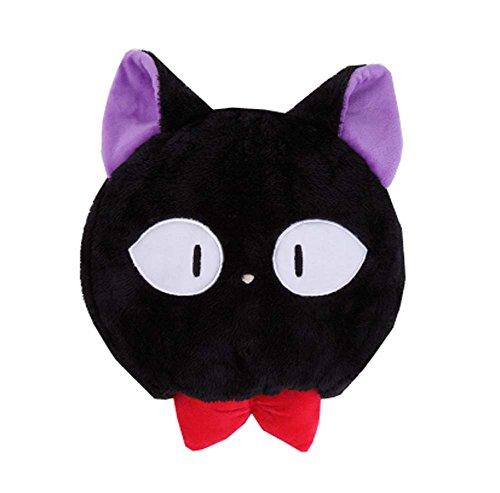 Tapis de souris d'hiver chaud avec protège-poignet - Gardez la main au chaud - Chat noir