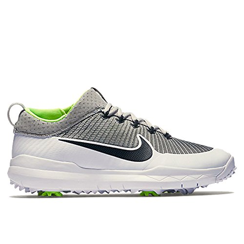 Nike FI Premiere Golf Shoes 2016 Silver/White/Volt/Black Wide 8.5 -