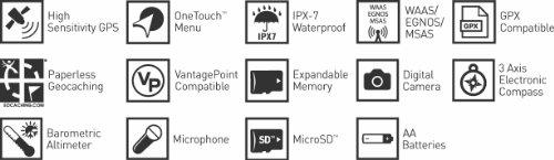 """Magellan eXplorist 710, Navigatore GPS con fotocamera digitale integrata, cartografia Topo WorldMap + Europe Summit, schermo tattile 3"""",  impermeabile"""