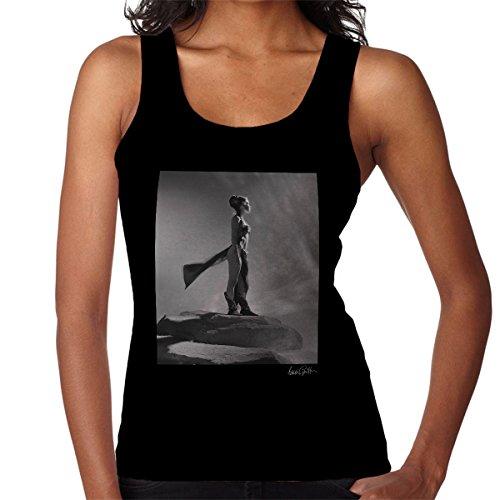 Brian Griffin Official Photography - Star Wars Behind The Scenes Princess Leia Gold Bikini Women's Vest (Leia Bikini Gold)