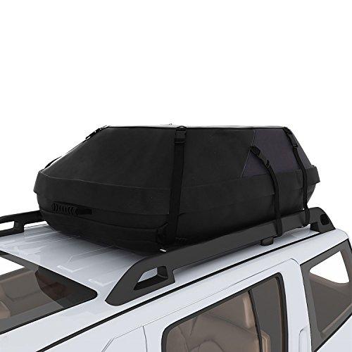 Swiftt Faltbare Dachbox Wasserdichte Dachtasche Aufbewahrungsbox Oberseite Träger Dach Fracht Beutel Kasten für Reise und Gepäcktransport