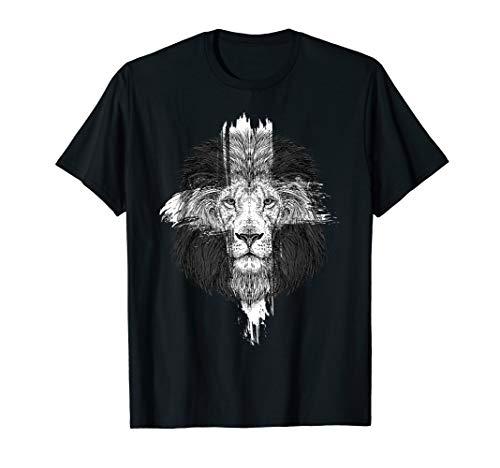 Gott Kirche Christliche Geschenk Löwen Christen Löwe T-Shirt