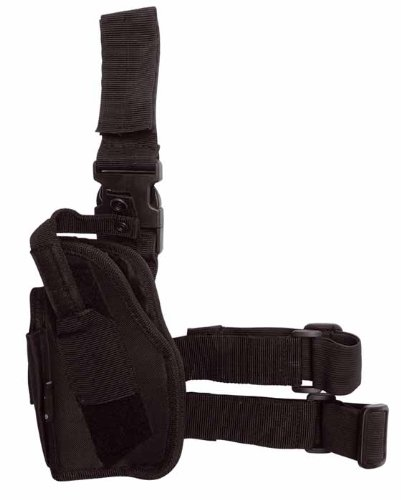 Tiefziehholster links schwarz -