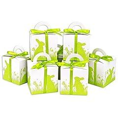 Idea Regalo - Papierdrachen - Scatole per Pasqua Stampate - Confezioni Regalo Bianco per Pasqua - Confezione Regalo Elegante - Design 4