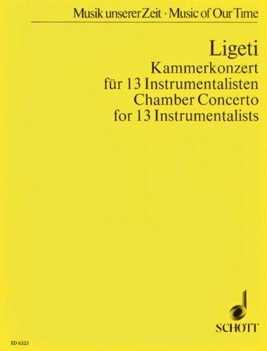 Kammerkonzert für 13 instrumentalisten