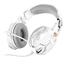 Trust Gaming GXT 322 Carus Gaming Headset for PC/Laptop/PS4/Xbox One, Snow Camo