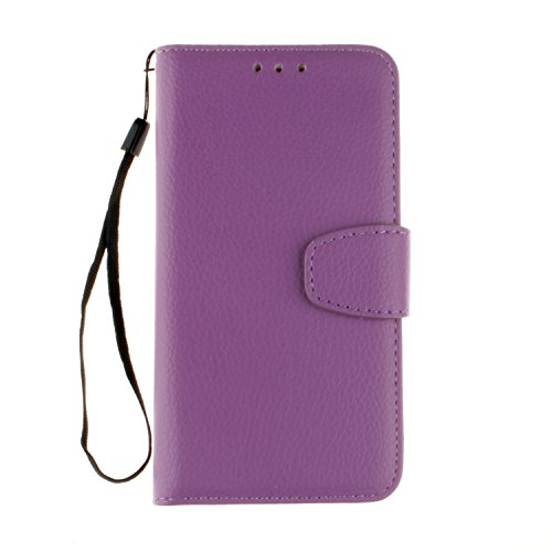 BONROY® Coque pour Nokia Lumia 650,Housse en cuir pour Nokia Lumia 650,imprimé étui en cuir PU Cuir Flip Magnétique Portefeuille Etui Housse de Protection Coque Étui Case Cover avec Stand Support Avec des Cartes de Crédit Slot et Fonction Support pour Nokia Lumia 650