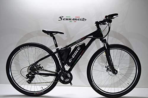 Cicli Ferrareis MTB ELETTRICA E-Bike MTB 29 Alluminio EBIKE Nera 250WATT
