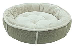Easipet Round Soft Dog Bed Cushioned with Fleece Lining (Tan, X Large 892)