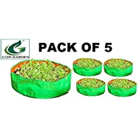 """Terrace Gardening HDPE Grow Bags for Vegetable Plants, Spinach (Keerai, Palak Plant Grow Bags) (18""""x6"""" inches) - [46cms(L) X 15cms(H)] - Pack of 5"""