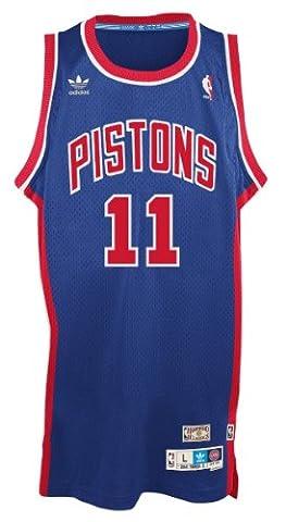 Isiah Thomas Detroit Pistons Adidas NBA Throwback Swingman Jersey -