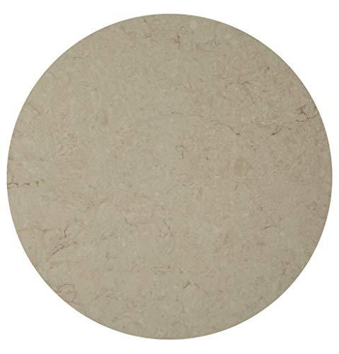 SLOVAK STONE Stein Tischplatte Taj Royale 5212 rund D60 cm x 2cm Stärke/Bistrotische / Gartentisch/Gastronomie - Marmor Tischplatte
