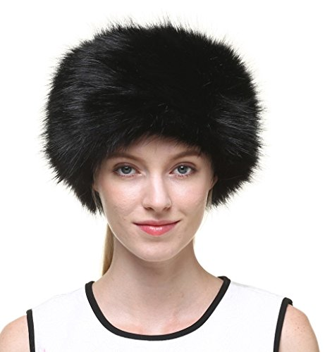Vogueearth Women'Russian Style Faux Fur Winter Warmer Hat