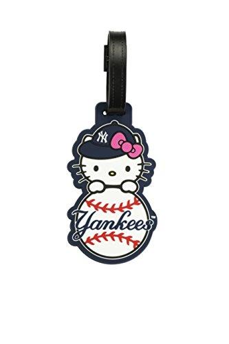 mlb-new-york-yankees-hello-kitty-cut-out-bag-tag