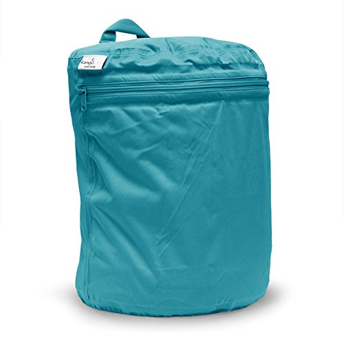 Kanga Care KRWETB_OS-S025 - Sacca per indumenti bagnati, da bambini, colore: azzurro acqua