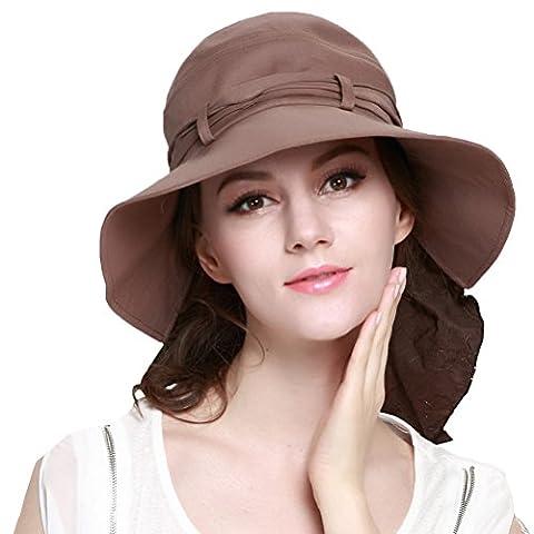Maitose® Frauen-Sonnenschutz Angeln Cap Neck Flap Kappe