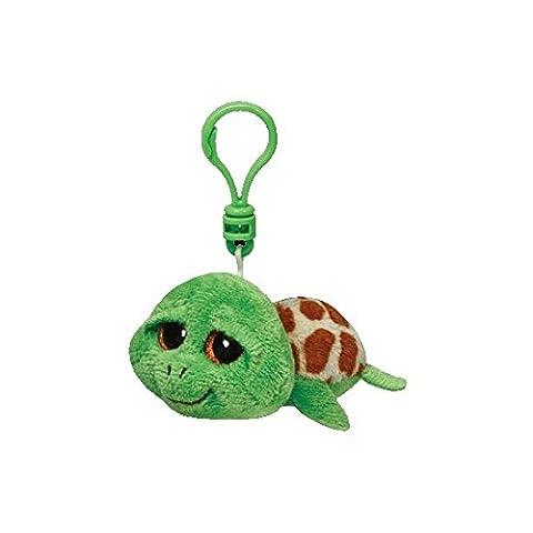 Ty Zippy Schildkröte Beanie Boos Schluesselanhaenger gruen 8,5 cm