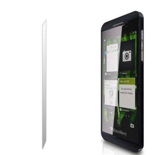 Fone-Case Blackberry Z10 Ultra-Transparent LCD Display-Schutzfolie Guard & Mikrofaser-Reinigungstuch (Für Blackberry Lcd-display Z10)