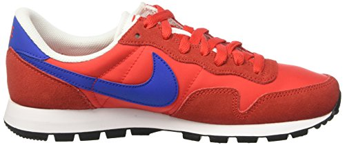Nike Air Pegasus 83, Chaussures de Sport Homme Rouge (Challenge Red/Gm Ryl Smmt Wht)