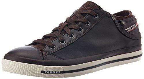 Diesel Aimant Exposition Low I - Sne, Chaussures Basses Pour Homme, Marron