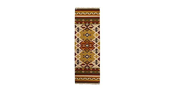 200x60 CM Kilim Autentico Originale e Fatto a Mano Idea