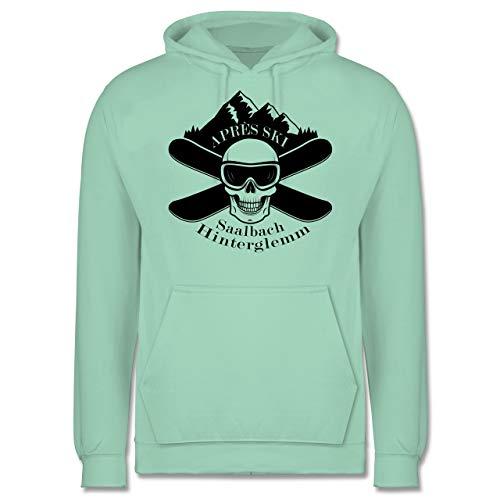 Après Ski - Apres Ski Saalbach Hinterglemm Totenkopf - XXL - Mint - JH001 - Herren ()