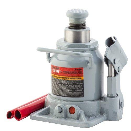Pro-Lift b-s20d gris hidráulico botella JACK–20Toneladas Capacidad
