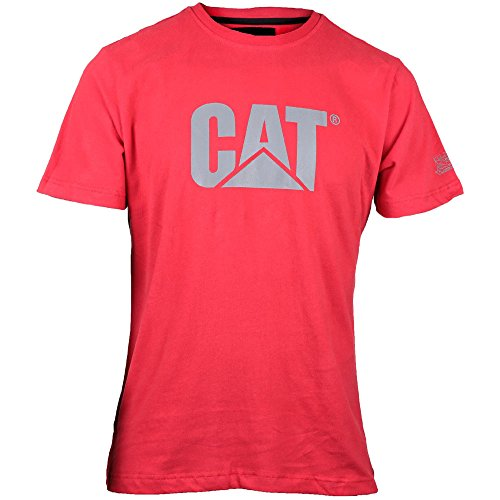 19197cef6d0ba4 Billig Caterpillar CAT Logo T-Shirt In Slim Fit Die Beste