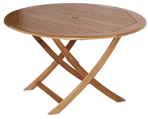 Proloisirs Table en Eucalyptus Sophie 120 cm