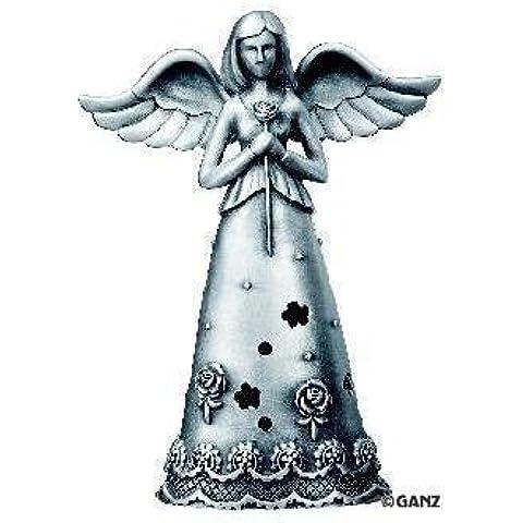 Ángel de la maternidad - fiel ángeles estatuilla del ángel en - del estaño de la caja de regalo