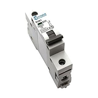 Bulk Hardware BH04182 20 A Type B Miniature Circuit Breaker