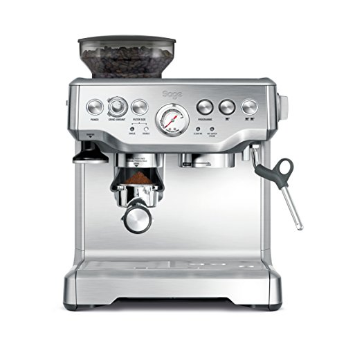 Sage BES875UK The Barista Express with Temp Control Milk Jug, Brushed Stainless Steel thumbnail