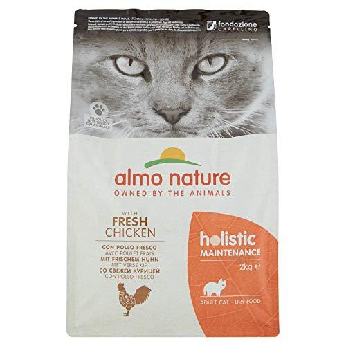 almo nature Holistique Maintenance Complet pour Chats Adultes Nourriture sèche avec Poulet Frais-2kg