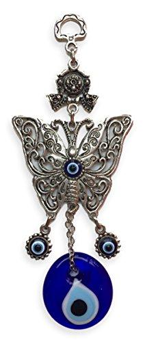 Mariposa colgante de pared Tradicional turco ojo buena suerte amuleto