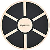 AmazonBasics - Tablero de equilibrio de madera, oscilante, Negro