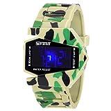 Cosmic-LED Aircraft Model wrist watch wi...