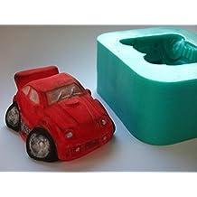kbksiliconemoulds. Sugarcraft de caucho de silicona Moldes Cake Decoración de resina Moldes Oficios Icing Funky coche