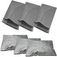 """Thali Outlet–1000x gris para envíos postales bolsas fuerte plástico Polietileno 10x 14""""–250x 350mm No1"""