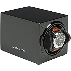 Barrington Single Watch Winder - Shadow Black