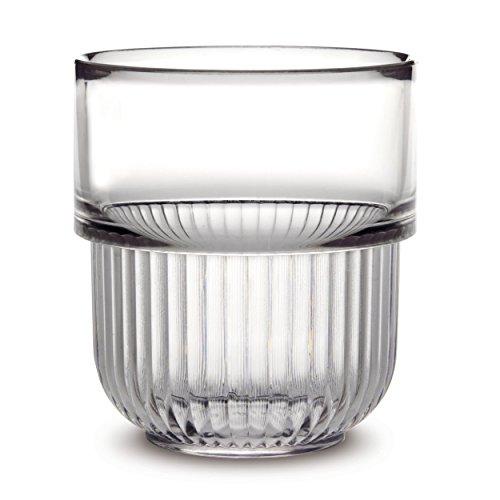 AUTHENTICS - Gobelets salle de bains transparent design authentics kali