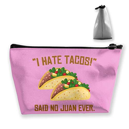 MGTXL Classic Fashion Bag I Hate Tacos Said No Juan Ever Coin Purse