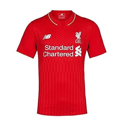 2015-2016 Liverpool Home Football Shirt