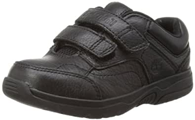 Timberland Oxford Hook-and-Loop, Unisex Kids' Shoes, Black (Black), 8 Child UK (25.5EU)