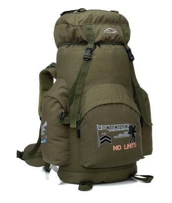 Al aire libre alpinismo bolso 70L bolsa de hombro hombres y mujeres deportes mochila Bolsa de viaje estudiantes equipaje Camping paquete