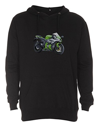 HAVENROCKER Hooded Sweat Kawa. ZX10R 30th Anniversary Edition 2015 bis Gr. 4XL - Damen-honda Cbr